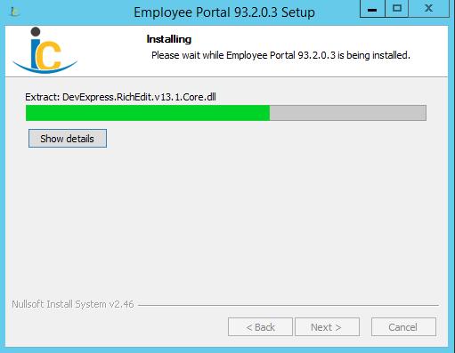 Installing Employee Portal | Product Documentation
